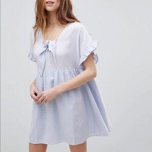 Brand new baby blue smock dress